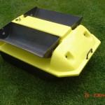 Gelb Futterboot