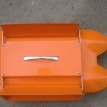 Orange Futterboot